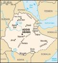 Karte Äthiopien